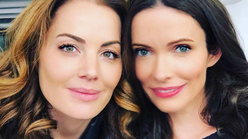 A Tale of Two Lois Lane's in Arrowverse Crossover BTS Photo