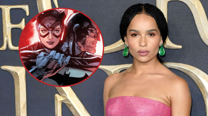 Anne Hathaway Reacts to Zoe Kravitz's Catwoman Casting