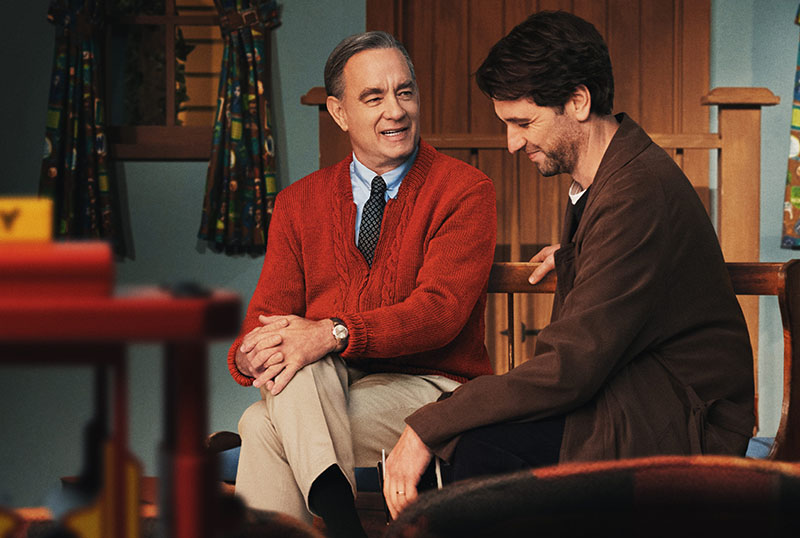 Tom Hanks is Mister Rogers in New A Beautiful Day in the Neighborhood Poster