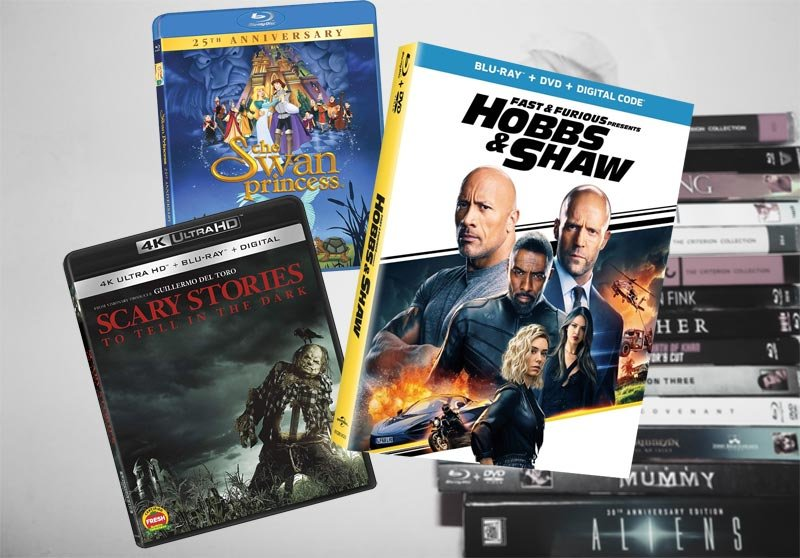 November 5 Blu-ray, Digital and DVD Releases