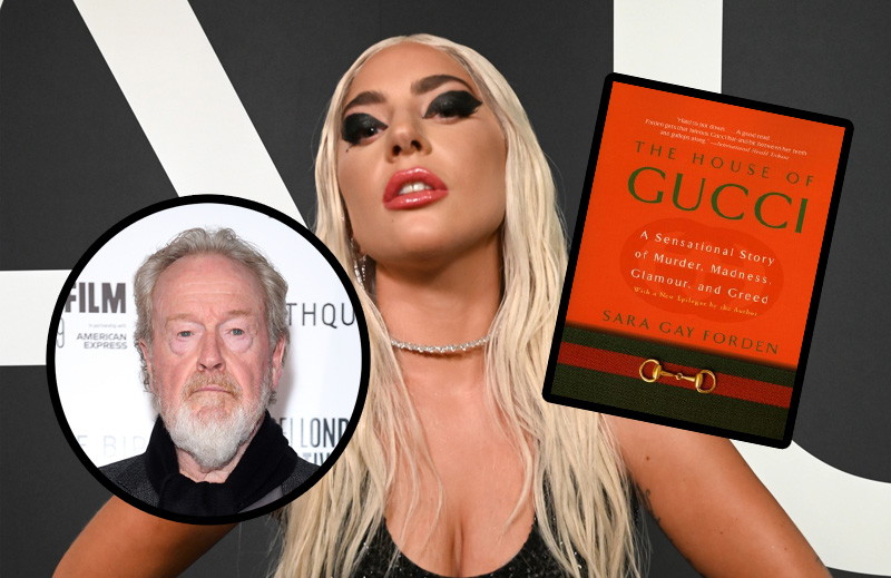Lady Gaga Set to Star in Ridley Scott's Gucci Murder Biopic