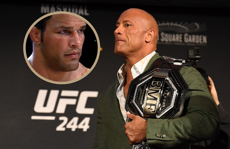 The Rock Set To Star In Film About Former UFC Champion