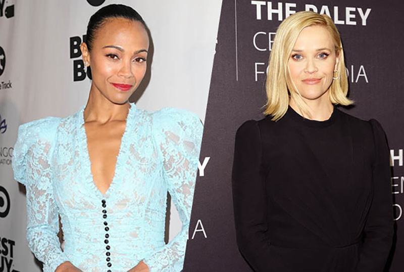 Zoe Saldana To Star In Reese Witherspoon Produced From