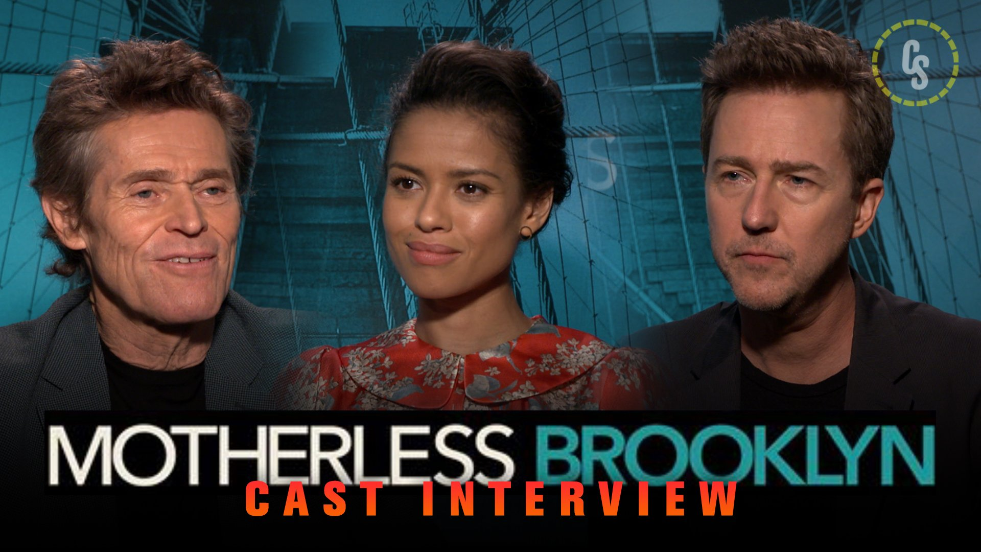 CS Video: Edward Norton and the Motherless Brooklyn Cast