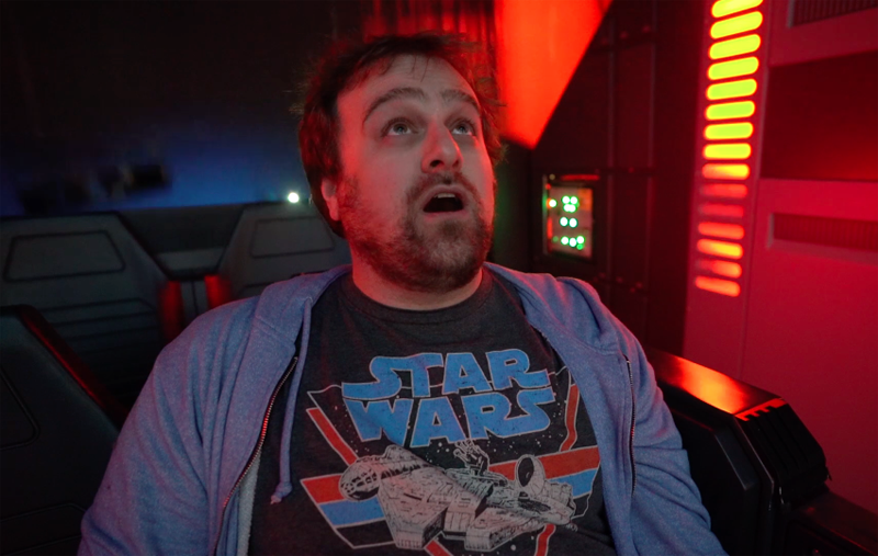 Watch Our Exclusive Star Wars: Rise of the Resistance Ride-Through!