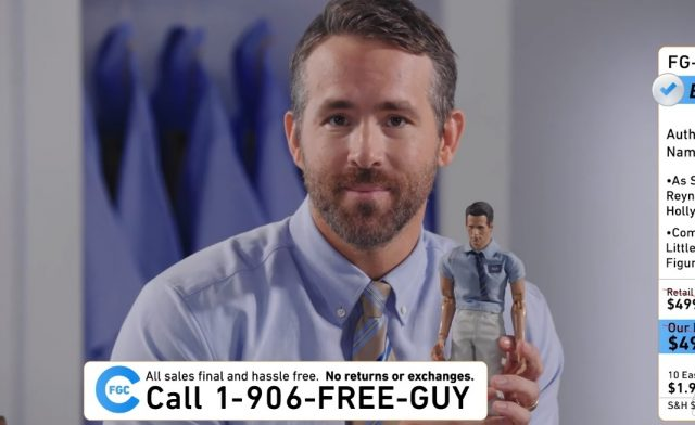 Ryan Reynolds Sells Free Guy Merch Ahead of Trailer Release in New Video