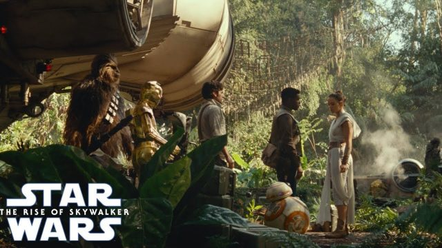 Rey, Finn and Poe Lead the Fight in New The Rise of Skywalker TV Spot