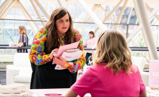 Aidy Bryant 'shakes her s