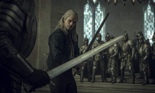 The Witcher Clip: Henry Cavill Fights Off the Queen's Soldiers