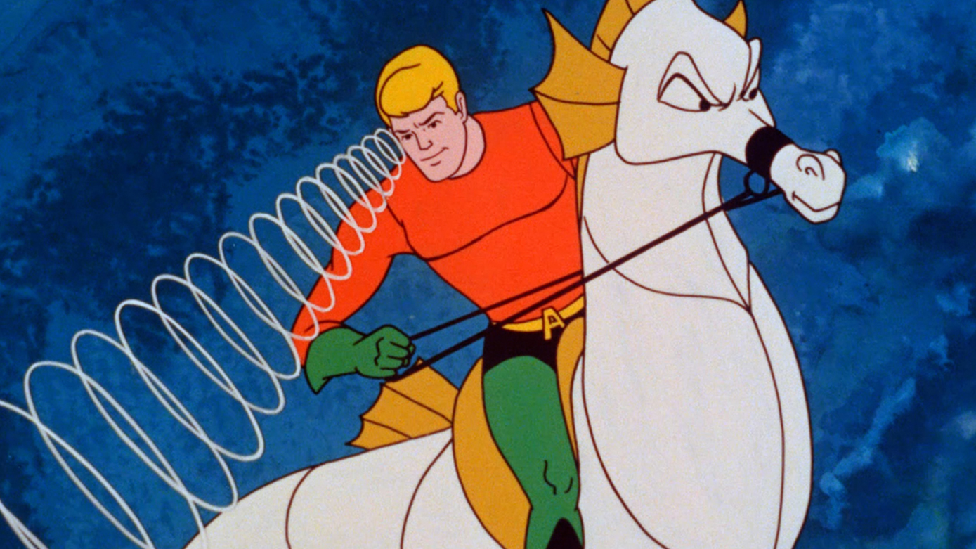 Style AQUAMAN Cartoon Lands at HBO MAX