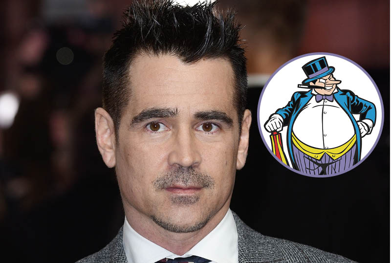 Matt Reeves Confirms Colin Farrell as The Penguin in The Batman