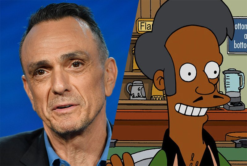 Apu will no longer be played by Hank Azaria on The Simpsons