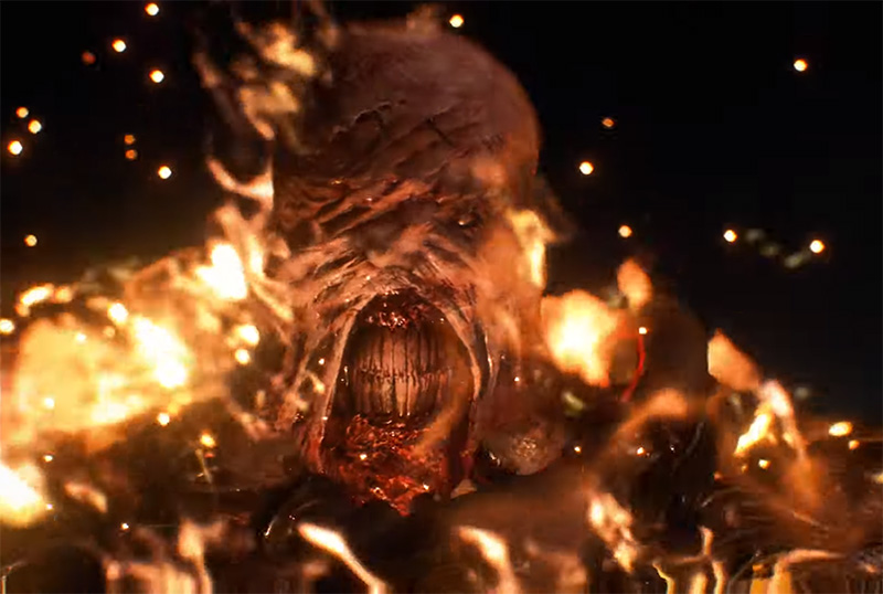 New Resident Evil 3 Remake Nemesis Trailer Released