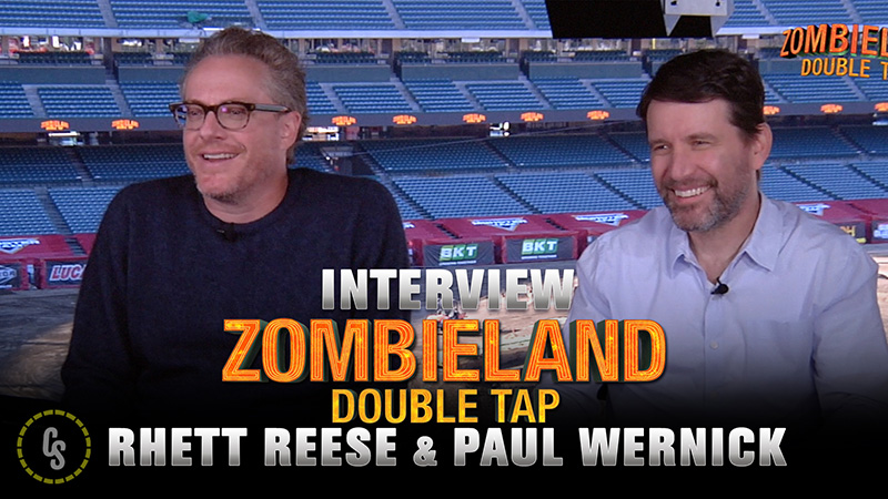 CS Video: Writers Paul Wernick & Rhett Reese on Zombieland: Double Tap