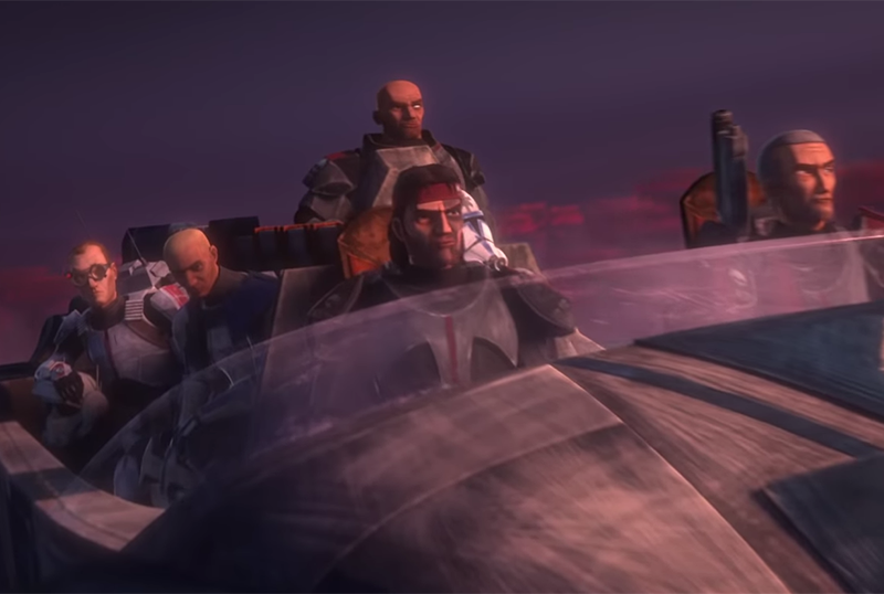 Star Wars: The Clone Wars Trailer: Meet Clone Force 99, AKA The Bad Batch