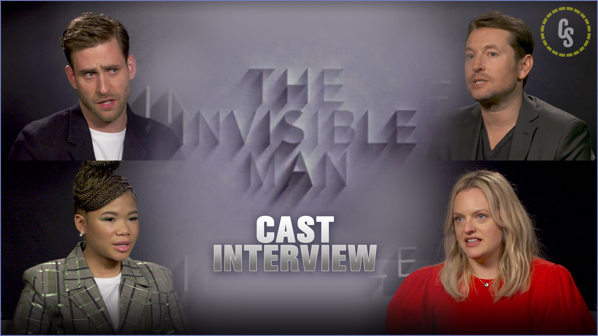 CS Video: Leigh Whannell and the Cast of Invisible Man Talk Horror Remake