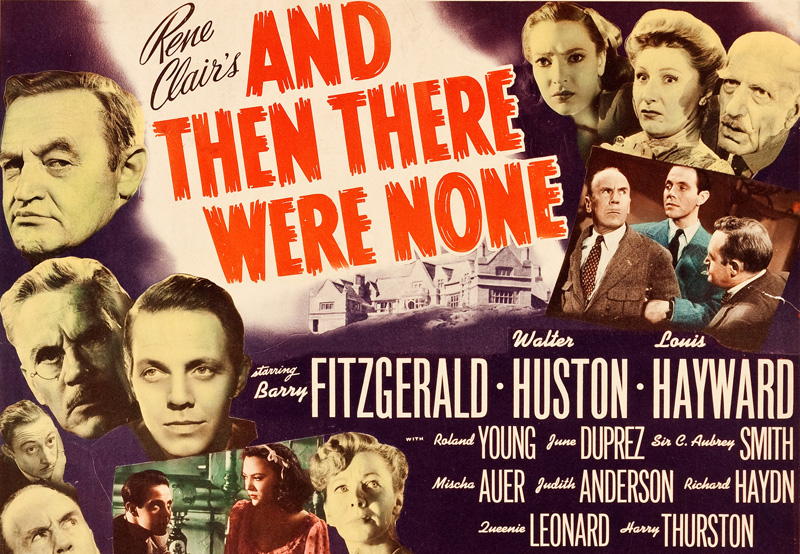 Agatha Christie's And Then There Were None Film in the Works