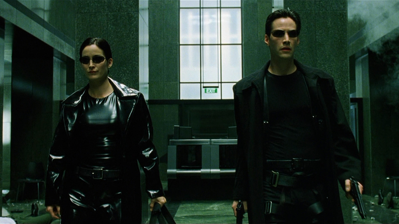 New The Matrix 4 Set Videos Feature Keanu Reeves & Carrie-Anne Moss