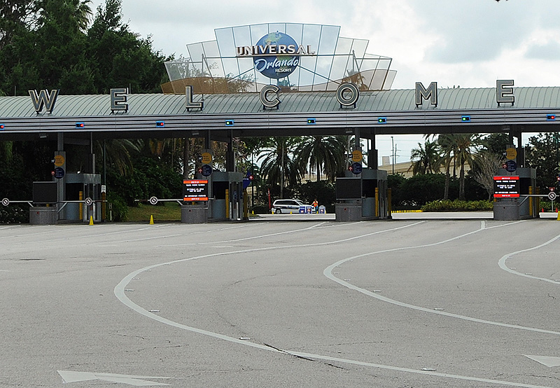 Both Universal Parks Extend Closure Into April