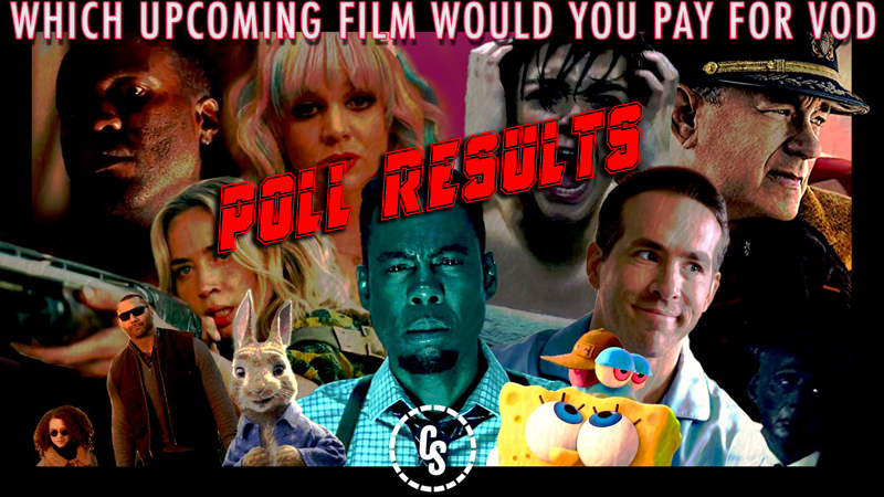 POLL RESULTS: Which Upcoming Film Would You Pay For on VOD?
