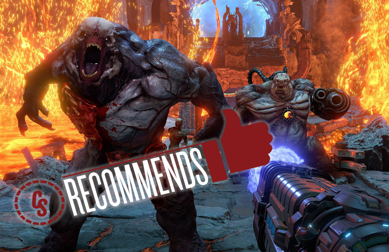CS Recommends: Doom Eternal, Plus Books, Music & More!