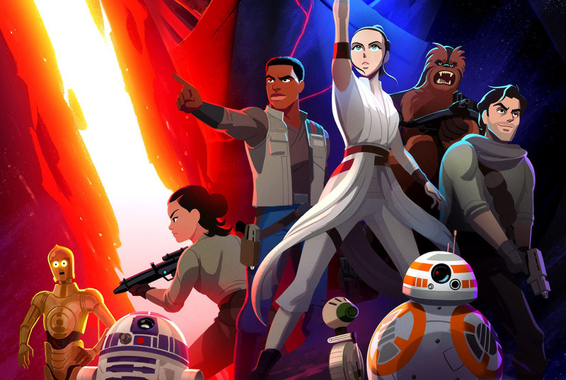 First Three Episodes & Poster Debuts for Star Wars: Galaxy of Adventures