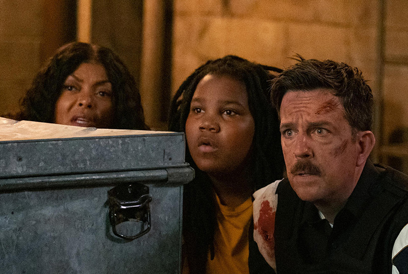 CS Interview: Taraji P. Henson & Ed Helms On Coffee & Kareem
