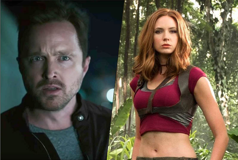 Aaron Paul, Karen Gillan to Lead Sci-Fi Thriller Dual