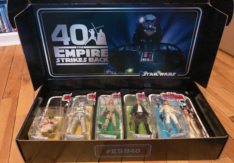 Check Out Hasbro's Empire Strikes Back 40th Anniversary Figures!