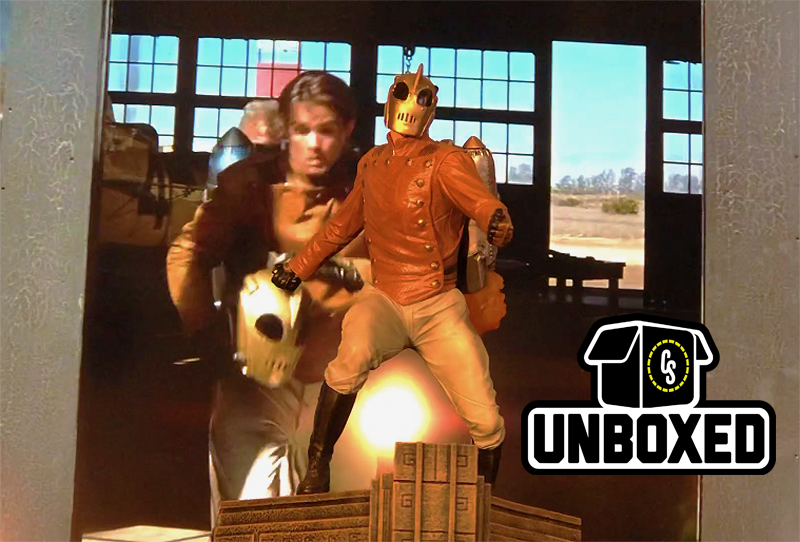 CS Unboxed: Diamond Select's Rocketeer Statues!