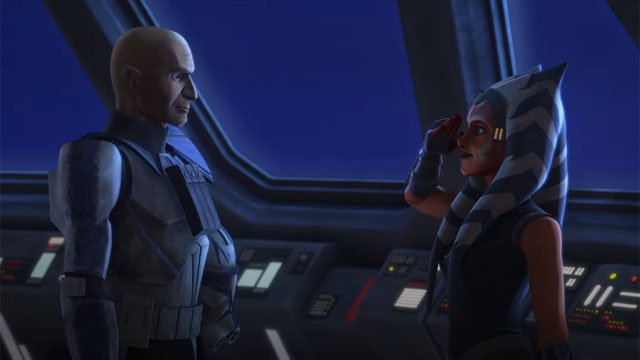 Ahsoka and Rex Reflect In Star Wars: The Clone Wars Episode 7.11 Preview