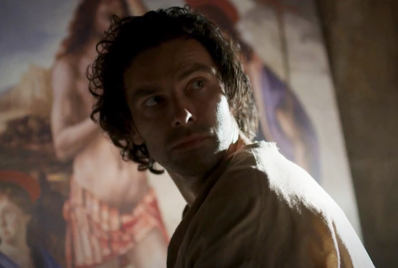 Leonardo: First Look at Aidan Turner as Leonardo da Vinci in New Series