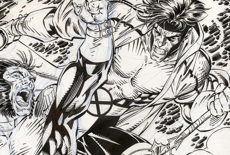 IDW Publishing Unveils Jim Lee's X-Men Artist's Edition