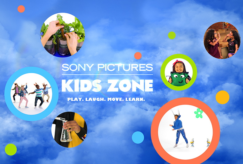 Sony Unveils Interactive Family Youtube Channel, Sony Pictures' Kids Zone
