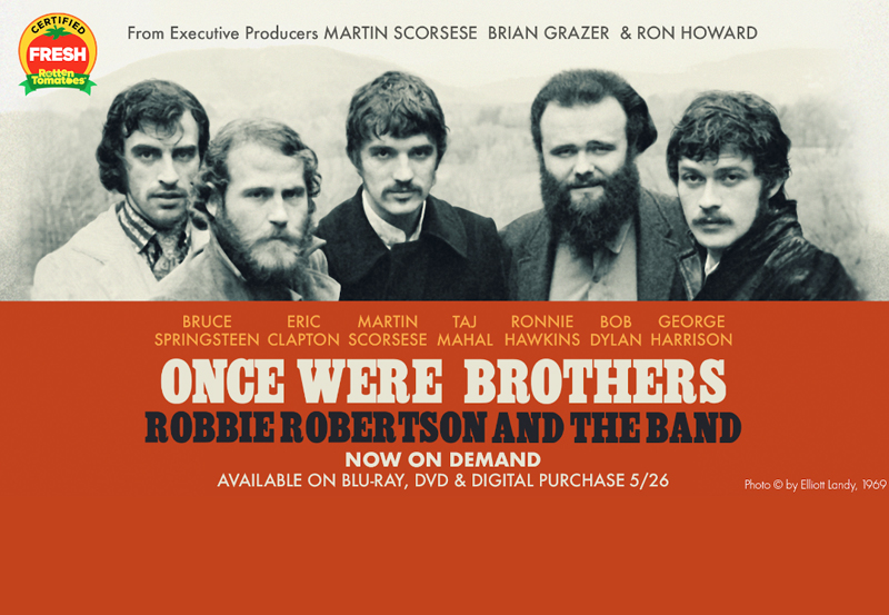 Gagnez une copie du documentaire du groupe Once Were Brothers!