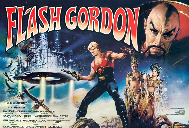 Flash Gordon 4K Trailer, Poster & UK Blu-ray Details Revealed!