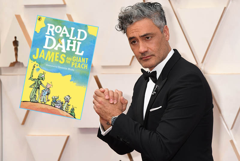Taika Waititi Leading Ensemble James and the Giant Peach Read-Along!
