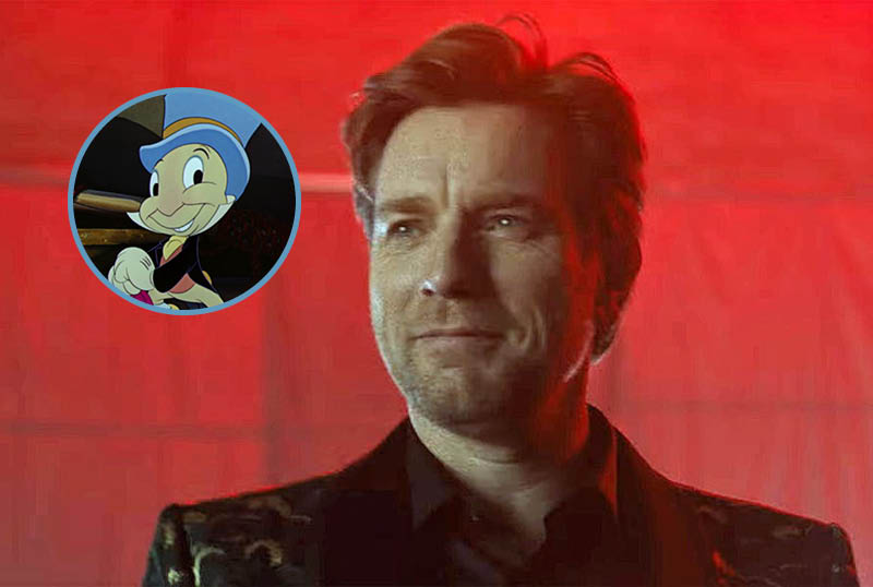 Ewan McGregor Voicing Jiminy Cricket in Guillermo del Toro's Pinocchio
