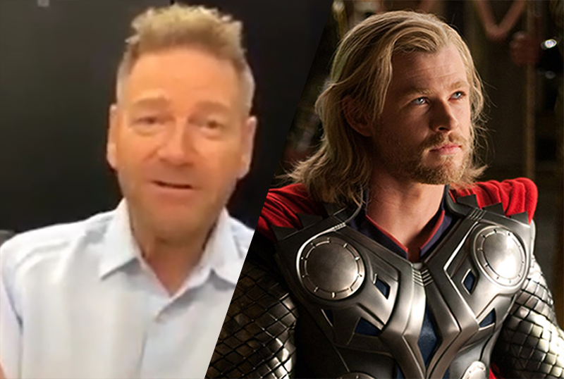 Exclusive: Kenneth Branagh Talks Thor and Potential MCU Acting Role!