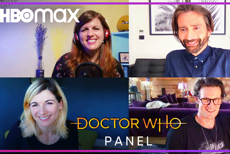 Doctor Who Virtual Panel Set With Whitaker, Smith & Tennant!