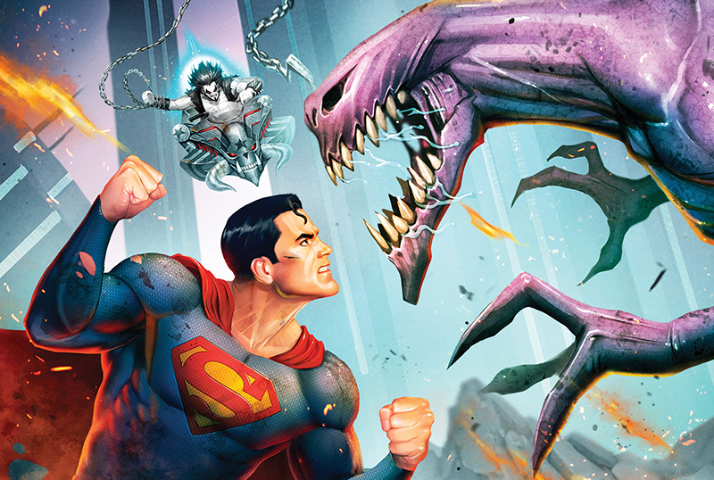 Superman: Man of Tomorrow Trailer & Blu-ray Box Art