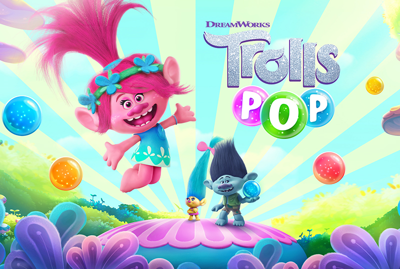 Trolls Pop: Huuuge Games Developing Bubble Shooter Mobile Game
