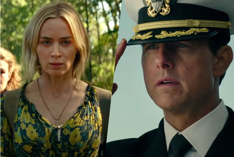 Paramount Pushes A Quiet Place Part II & Top Gun: Maverick