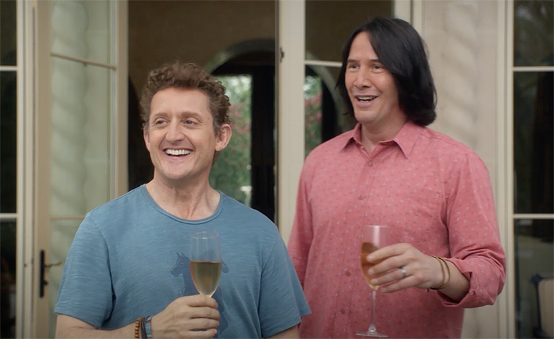 Keanu Reeves Says Bill & Ted 3 Will Feature Same Style as Originals
