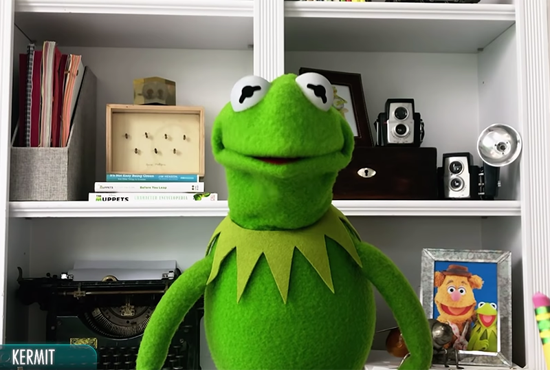Kermit the Frog Unveils Episode Count for Muppets Now in Video Call!