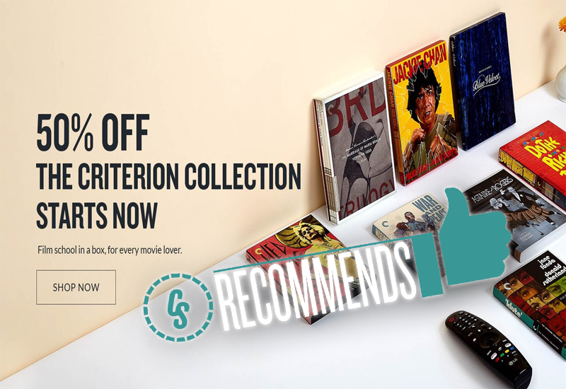 CS Recommends: Criterion Collection Sale, Plus TV Shows & More!
