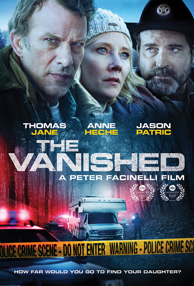The Vanished Trailer & Poster Starring Thomas Jane, Anne Heche ...