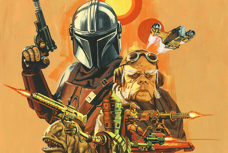 Mondo Unveils The Mandalorian: Season One Vinyl Soundtrack