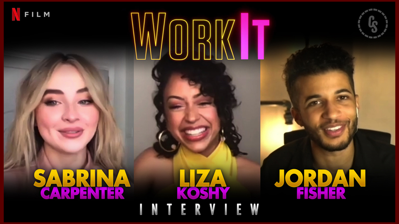 CS Video: Sabrina Carpenter and the Work It Cast!