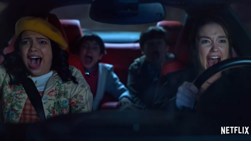 The Sleepover Trailer Previews Netflix's New Adventure Comedy